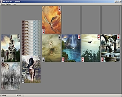 Wiz Solitaire (Canfield w/ DragonWorks deck) larger picture